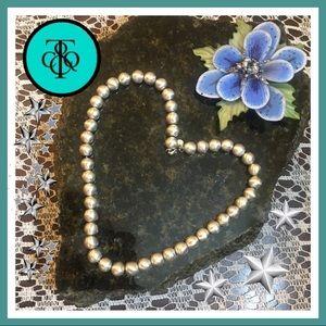 "Tiffany & Co. Vintage Ball Bead 18"" Necklace"
